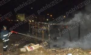 Πύργος: Πυροσβέστες πήγαν να σβήσουν φωτιά και οι ρομά τους έστειλαν στο νοσοκομείο (pic)