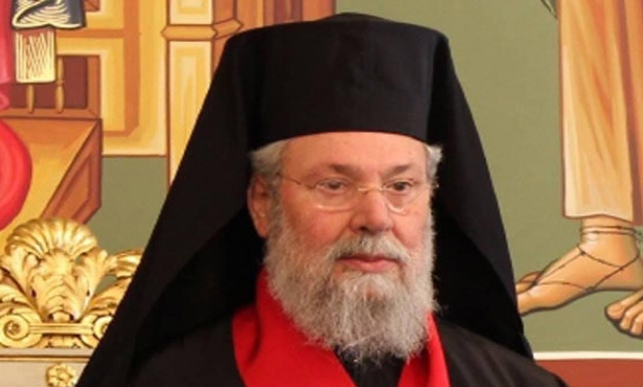 Αρχιεπίσκοπος Χρυσόστομος: Τυφλά χρονοδιαγράμματα και μεθοδεύσεις στο Κυπριακό