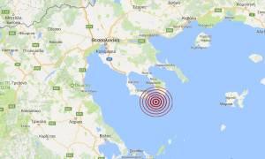 Σεισμός νότια της Χαλκιδικής (pics)