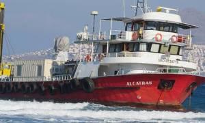 Συναγερμός στην Κω: Τουρκικό πλοίο προσάραξε στην Αμμόγλωσα (pics&vids)