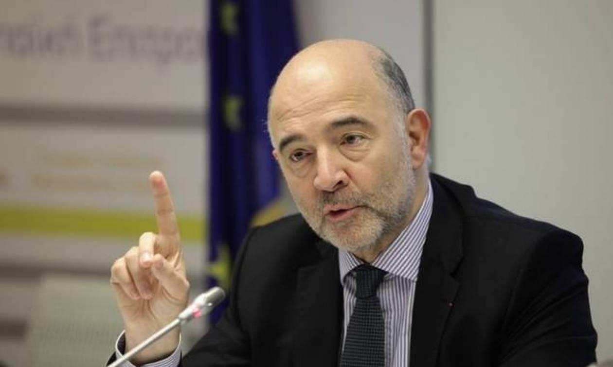 Μοσκοβισί: Ανοιχτός ο δρόμος για την ελάφρυνση του ελληνικού χρέους