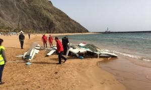 Τρόμος στην παραλία: Αεροπλάνο συνετρίβη δίπλα στους τουρίστες που έκαναν ηλιοθεραπεία (pics)