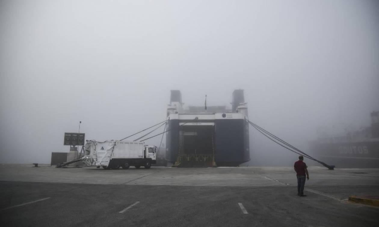 Κακοκαιρία: Πρόσκρουση του επιβατηγού πλοίου στο λιμάνι της Ζακύνθου