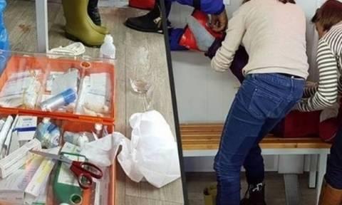 Τρίχρονο παιδάκι κινδύνεψε στο χιονοδρομικό του Τροόδους- Δείτε ποιοι το «έσωσαν» (photo)
