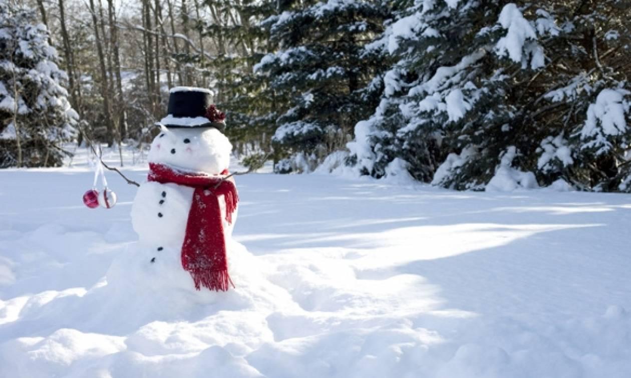 Καιρός - «Λευκή» Πρωτοχρονιά – Η ΕΜΥ προειδοποιεί: Σε αυτές τις περιοχές θα το «στρώσει»