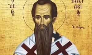 Μέγας Βασίλειος: Mία από τις μεγαλύτερες μορφές της Εκκλησίας
