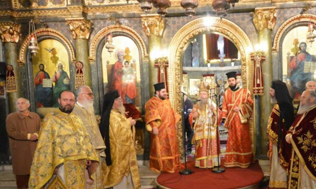 Πρωτοχρονιά 2017 στον Καθεδρικό Ναό της του Θεού Σοφίας Θεσσαλονίκης