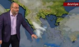 Ο Σάκης Αρναούτογλου προειδοποιεί: Έρχεται δριμύ ψύχος και χιόνια στο τέλος της εβδομάδας (photos)