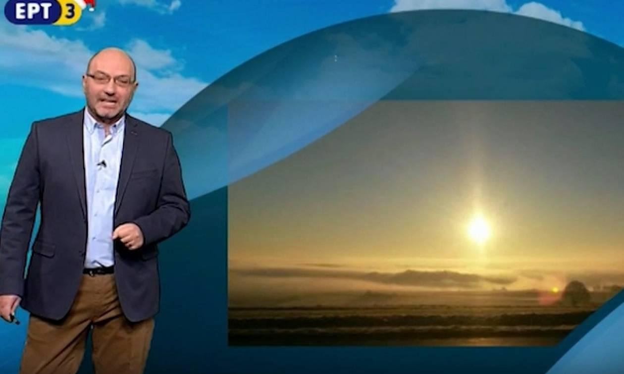 Το δελτίο καιρού του Σάκη Αρναούτογλου: Πότε και από πού θα αρχίσουν οι χιονοπτώσεις (video)