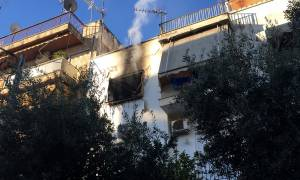 Φωτιά σε διαμέρισμα στον Κορυδαλλό (pics&vid)