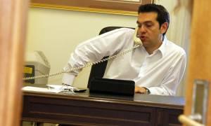 Κυπριακό - Μαξίμου: Μπαράζ τηλεφωνικών επαφών Τσίπρα με Πούτιν και Ευρωπαίους αξιωματούχους