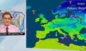 Καιρός: Το μήνυμα του Θοδωρή Κολυδά για τα χιόνια - «Το Σάββατο θα ξυπνήσουμε στα λευκά...»