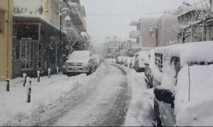 Δεκαπέντε φωτογραφίες από την υπέροχη χιονισμένη Κρήτη