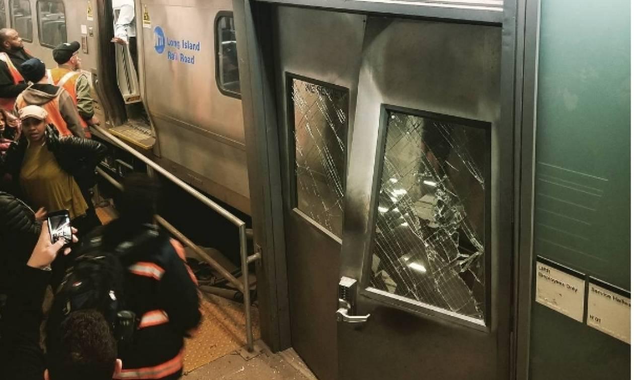 Εκτροχιασμός τρένου στη Νέα Υόρκη - Δεκάδες τραυματίες και σκηνές χάους