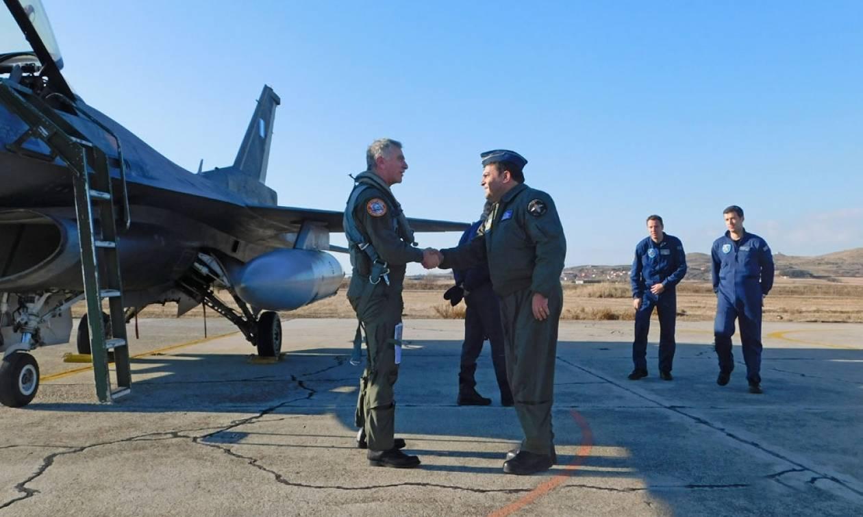 Πολεμική Αεροπορία: Επίσκεψη Αρχηγού TA στην 130ΣΜ (pics)