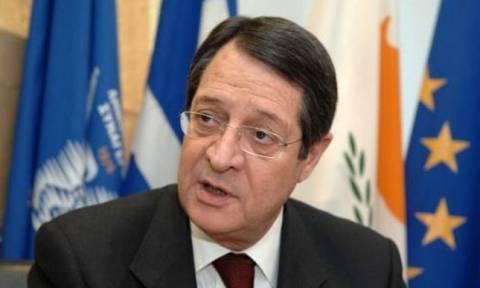 Αναστασιάδης: Μόνο αν υπάρχει προοπτική συμφωνίας στο εδαφικό θα γίνει η πενταμερής στη Γενεύη