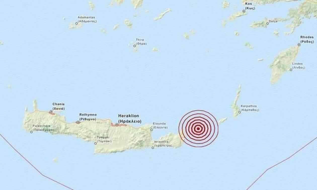 Σεισμός μεταξύ Κρήτης και Κάσου (pics)