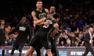 Υποκλίθηκαν και οι Knicks στον Αντετοκούνμπο (vid)
