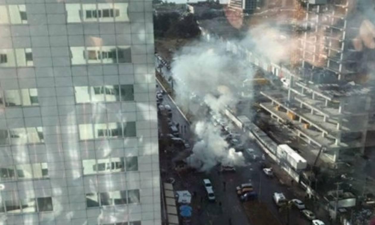 ΔΕΙΤΕ LIVE εικόνα από το νέο τρομοκρατικό χτύπημα στην Τουρκία