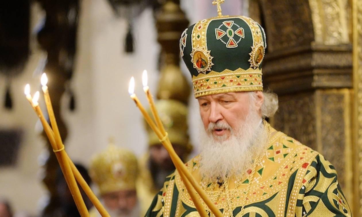 Πατριάρχης Μόσχας: Προσπαθούν να διασπάσουν την εκκλησιαστική ενότητα Ρωσίας - Ουκρανίας