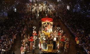 Ισπανία: Υπό δρακόντεια μέτρα ασφαλείας παρέλασαν οι Tρεις Mάγοι στη Μαδρίτη