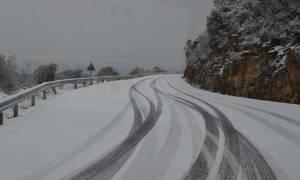Χιονιάς στη δυτική Μακεδονία: Πού χρειάζονται αντιολισθητικές αλυσίδες