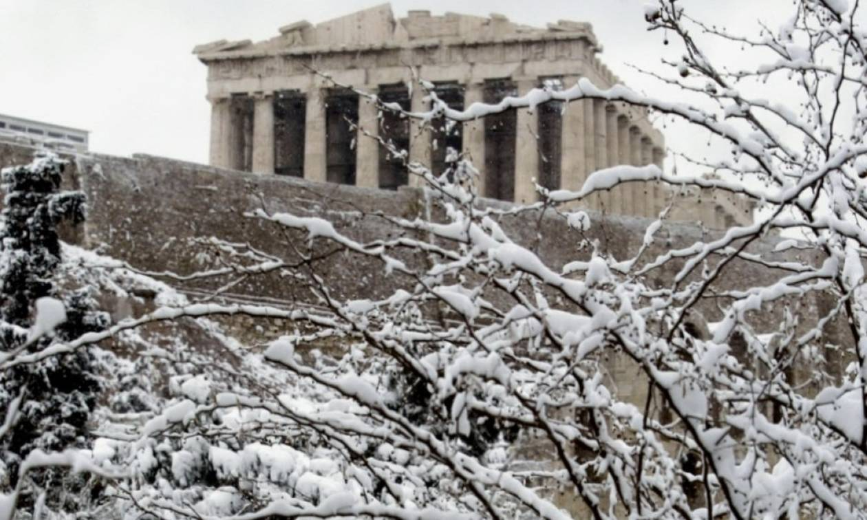 Χιονιάς Αριάδνη: Οι χάρτες με τα χιόνια στην Αθήνα! Πότε θα αρχίσει να χιονίζει στο κέντρο; (Photos)