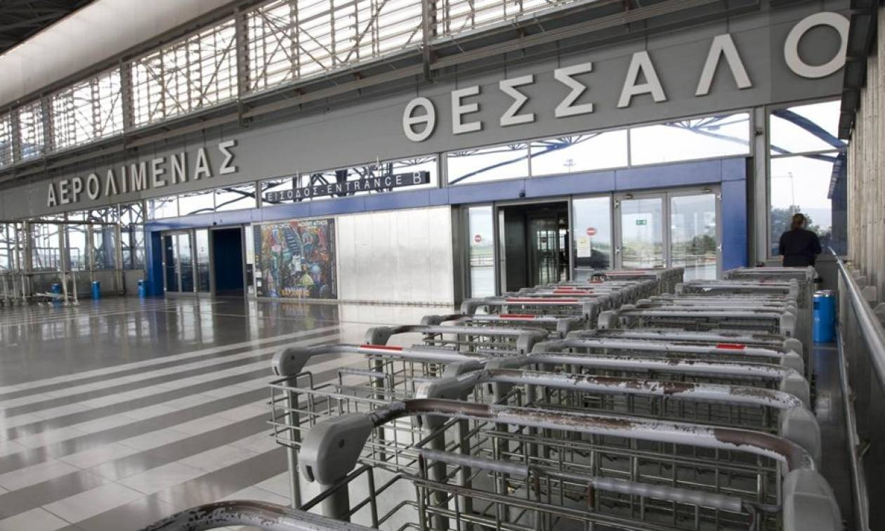 Καιρός Θεσσαλονίκη: Προβλήματα στις πτήσεις λόγω των ισχυρών ανέμων