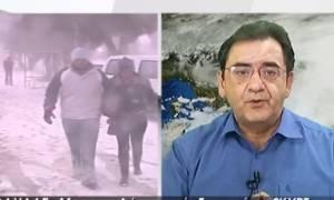 Χιονιάς Αριάδνη: Τα στοιχεία και η εκτίμηση του Θοδωρή Κολυδά: «Ό,τι πέφτει θα είναι χιόνι» (Photos)