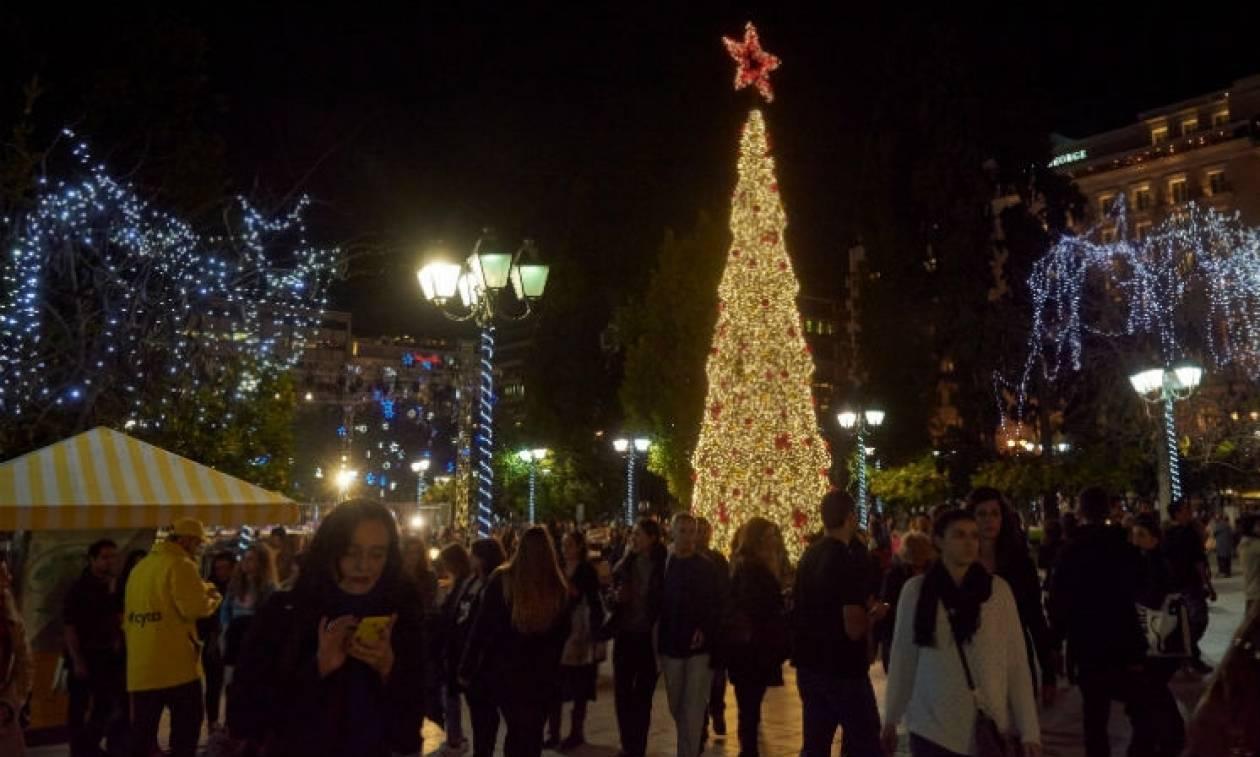 Δήμος Αθηναίων: Μέχρι τις 8 Ιανουαρίου οι εορταστικές εκδηλώσεις