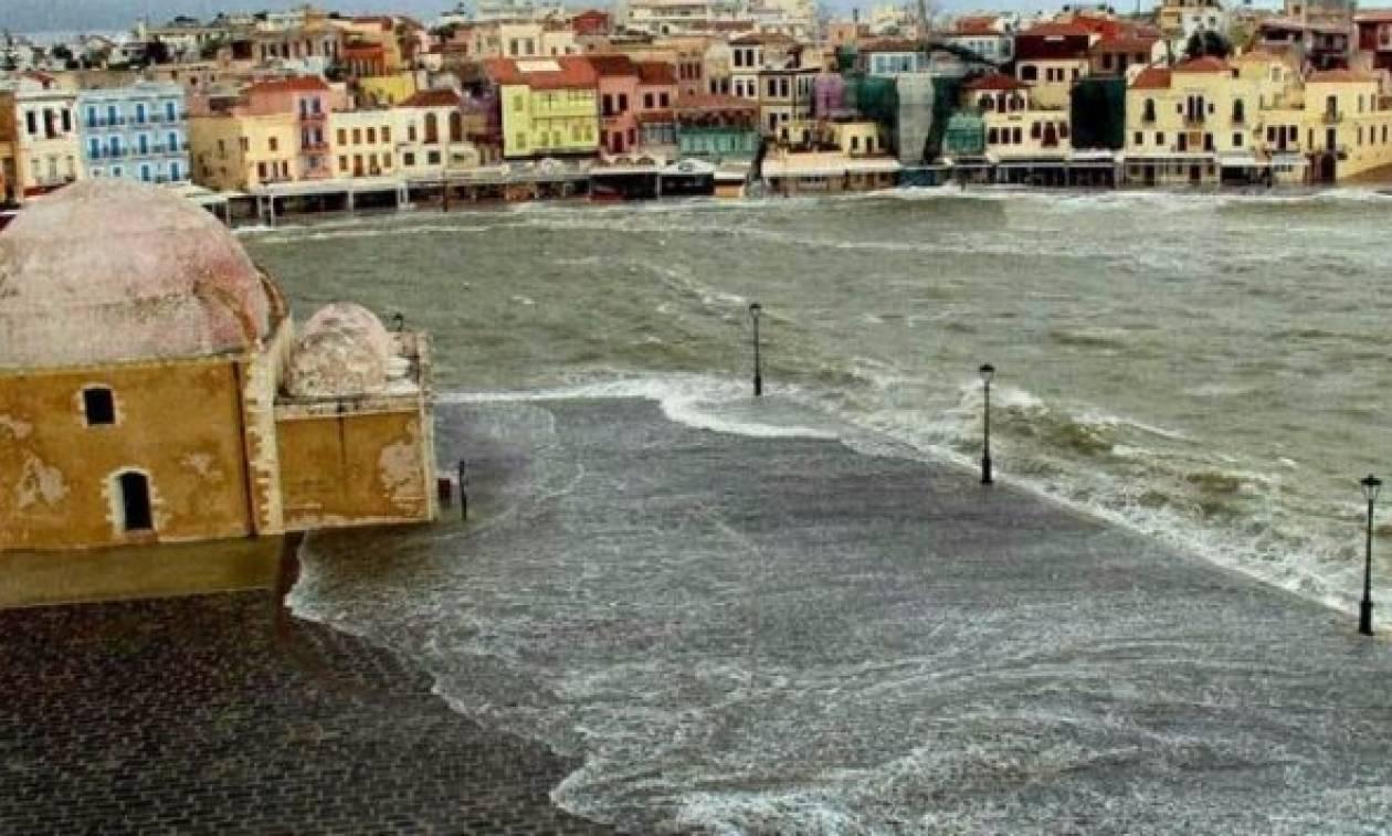 Το παλιό λιμάνι των Χανίων όπως… δεν το έχετε ξαναδεί! (photo)