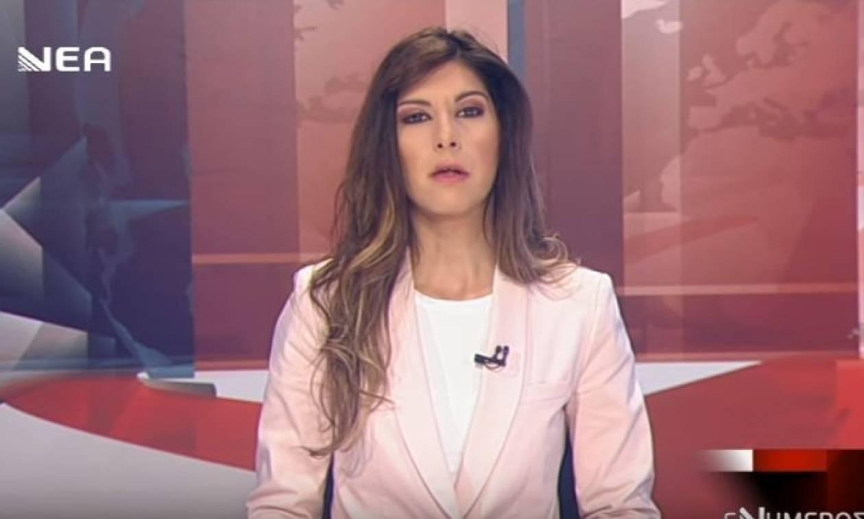 Πόλα Ρούπα: Κατάληψη σε στούντιο τηλεοπτικού σταθμού των Χανίων (video)