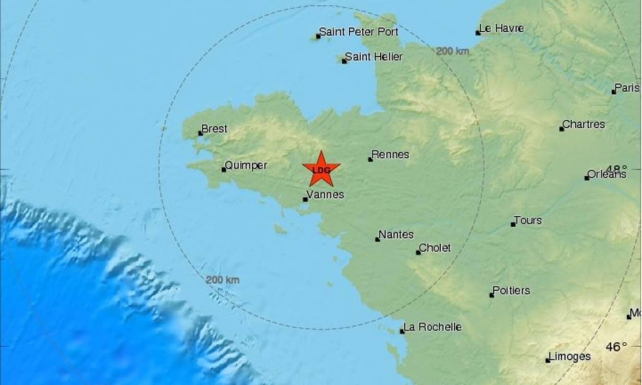 Σεισμός στη Γαλλία