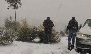 Χιόνια και παγωνιά το Σάββατο σε ολόκληρη τη χώρα