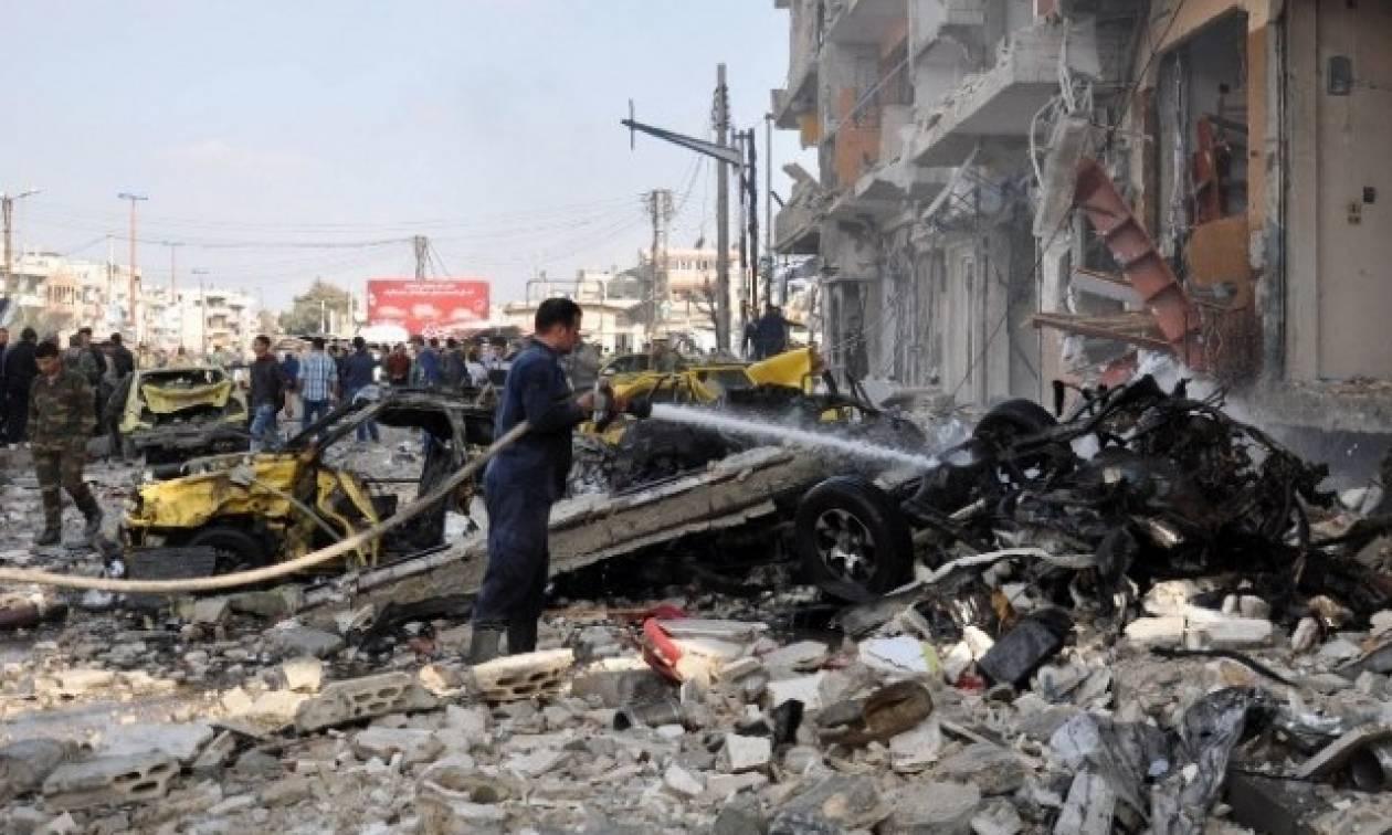 Συρία: Μακελειό από έκρηξη παγιδευμένου αυτοκινήτου