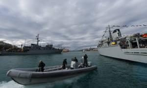 Το Πολεμικό Ναυτικό στη τελετή αγιασμού των υδάτων (pics)