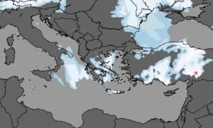 Καιρός: Η Πρόγνωση της ΕΜΥ για την Κυριακή – Πού θα χιονίζει