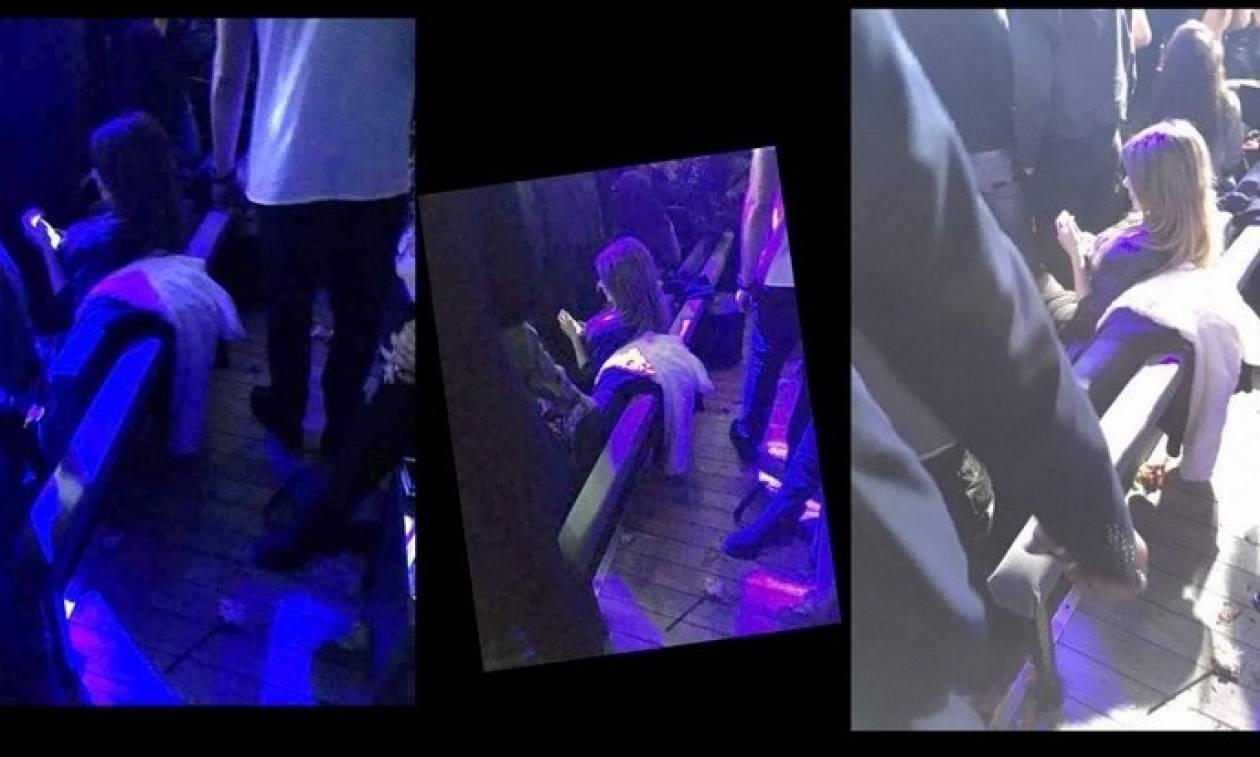 Συνέβη χθές στην Πάολα - Η Αρναούτη με τον Γκάνο στα μπουζούκια