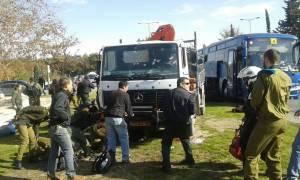 Επίθεση Ιερουσαλήμ: Δείτε εικόνα από το σημείο