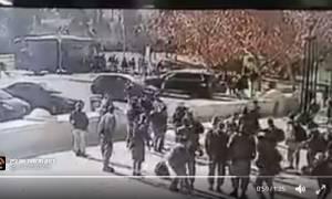 Ιερουσαλήμ: Δείτε καρέ-καρέ την επίθεση με φορτηγό κατά στρατιωτών (ΠΡΟΣΟΧΗ!ΣΚΛΗΡΕΣ ΕΙΚΟΝΕΣ)