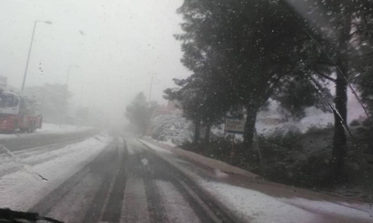 Καιρός: Κλείνει το αεροδρόμιο Χανίων λόγω παγετού