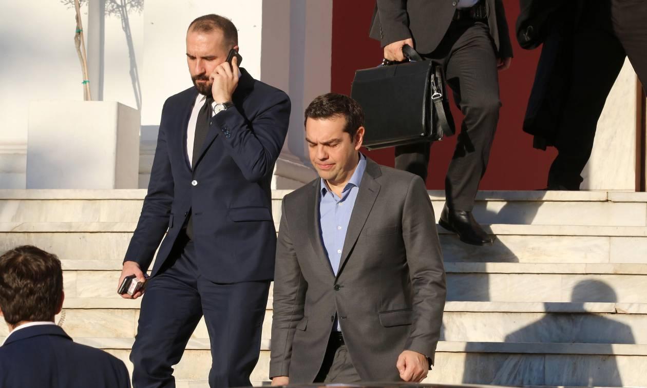 Αποτέλεσμα εικόνας για Τζανακόπουλος με Τσίπρα