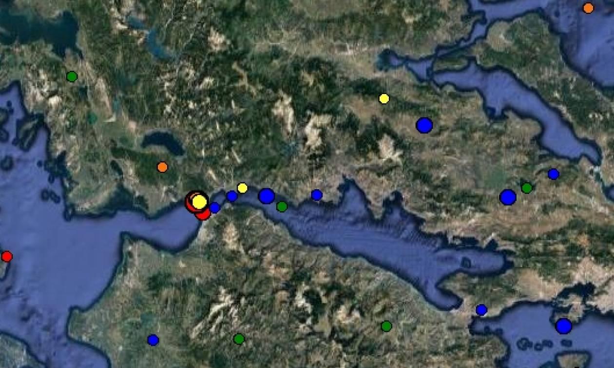Ισχυρός σεισμός στην Ναύπακτο