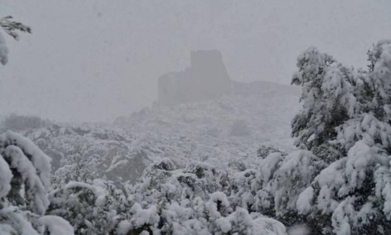 Вовсех школах Греции отменены занятия из-за сильного снегопада
