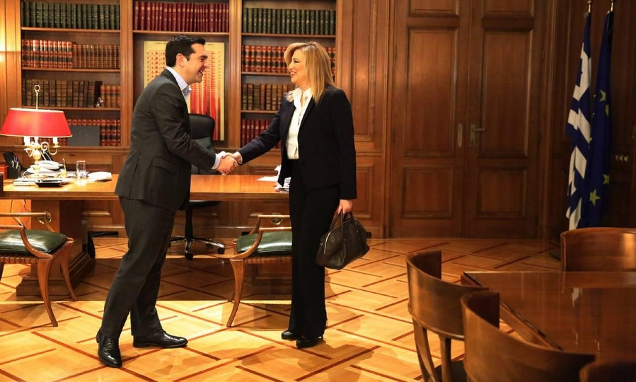 Κυπριακό - Γεννηματά προς Τσίπρα: Χρειαζόμαστε μια λύση σύμφωνη με το ευρωπαϊκό κεκτημένο