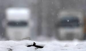 Καιρός: Απαγόρευση κίνησης φορτηγών στην Αθηνών - Πατρών και την Κορίνθου - Πατρών