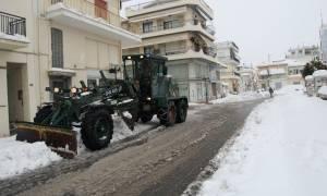 Καιρός: Συνδρομή των Ενόπλων Δυνάμεων για την αντιμετώπιση των προβλημάτων
