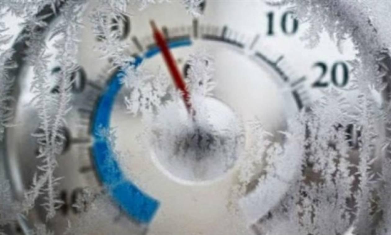 Καιρός: Ολικός παγετός στον Έβρο - «Μάχη» με το χιονιά στη Σαμοθράκη