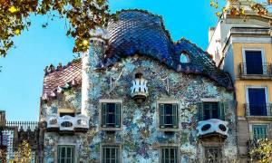 Βαρκελώνη δεν είναι μόνο η Barca, είναι και τα κτήρια του Gaudi