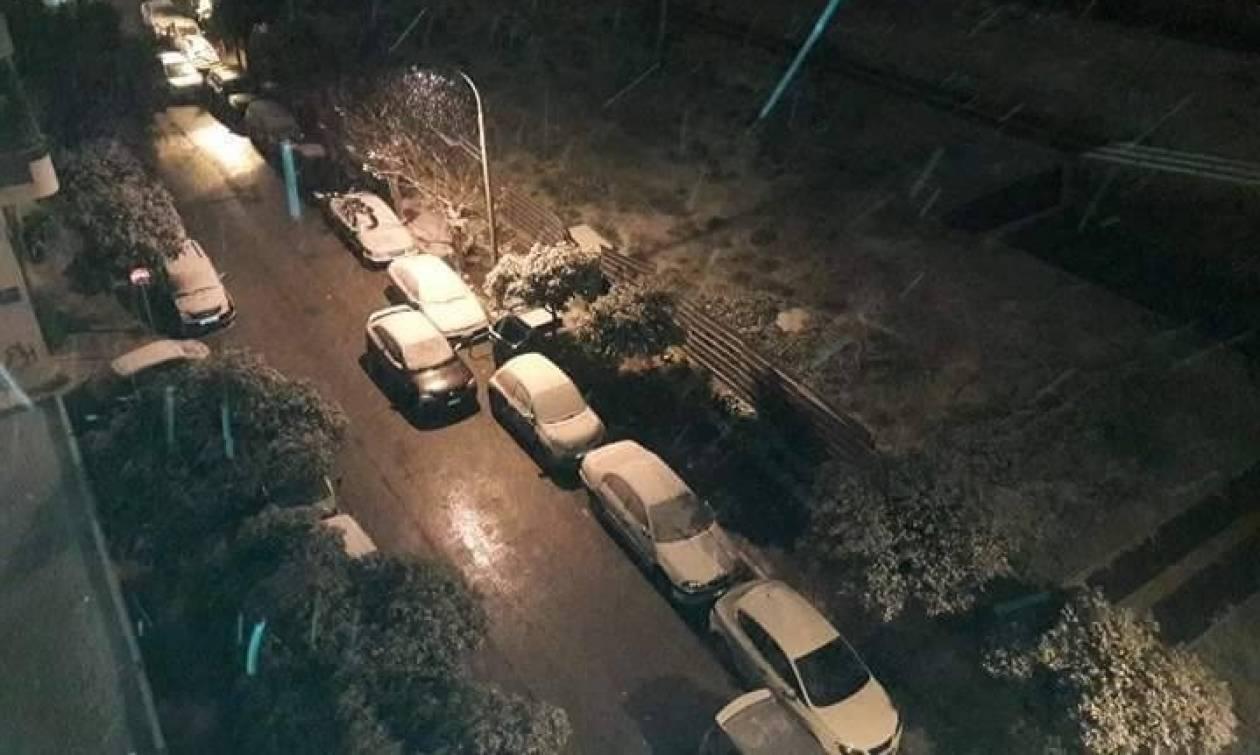 Καιρός Αθήνα: Κυκλοφοριακά προβλήματα στην Αττική λόγω χιονόπτωσης